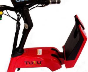 Patin eléctrico asiento plegable
