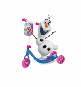 Patinete Frozen