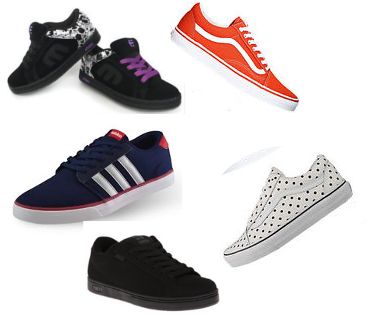 Exclusivas zapatillas para Skate
