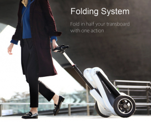 Folding system Mercane Wheels