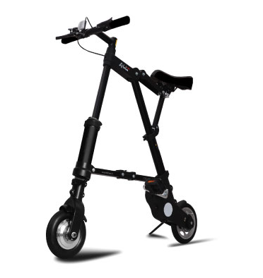 bicicleta electrica plegable A-bike