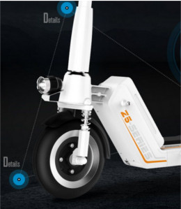 patinete electrico z5 luces