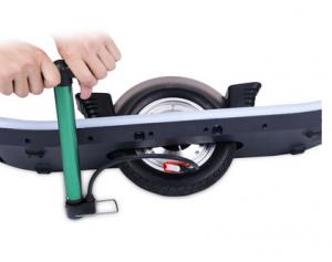 Skate eléctrico rueda hinchable