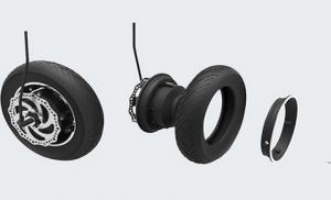 Fácil reparación ruedas monopatín eléctrico
