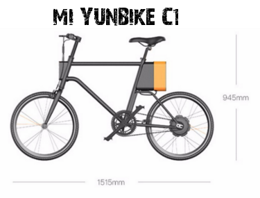 bicicleta eléctrica Mi Yunbike C1.