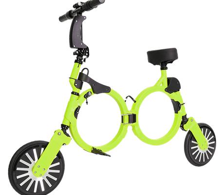 bicicleta electrica plegable neofold