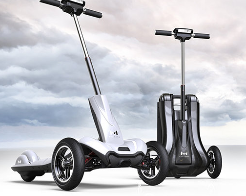 Triciclo scooter eléctrico