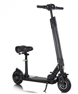 GYMAX Electric Scooter with seat