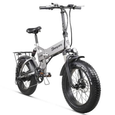 Bicicleta eléctrica todo terreno